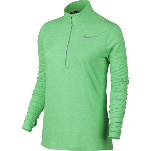 Nike Women's Element 1/2 Zip Pullover Top