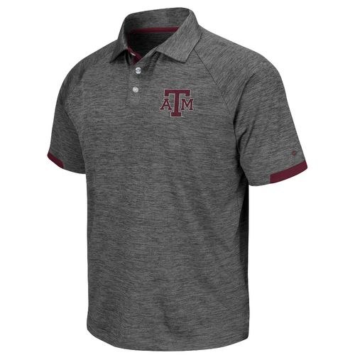 Colosseum Athletics Men's Texas A&M University Spiral Polo Shirt