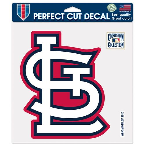 "WinCraft St. Louis Cardinals 8"" x 8"" Perfect Cut Color Decal"