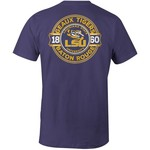 Image One Men's Louisiana State University Rounds Comfort Color T-shirt