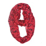 ZooZatz Women's University of Arkansas Infinity Scarf