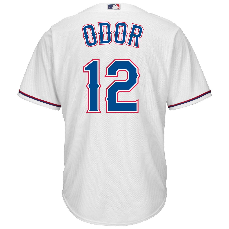 Majestic Men's Texas Rangers Rougned Odor #12 Cool