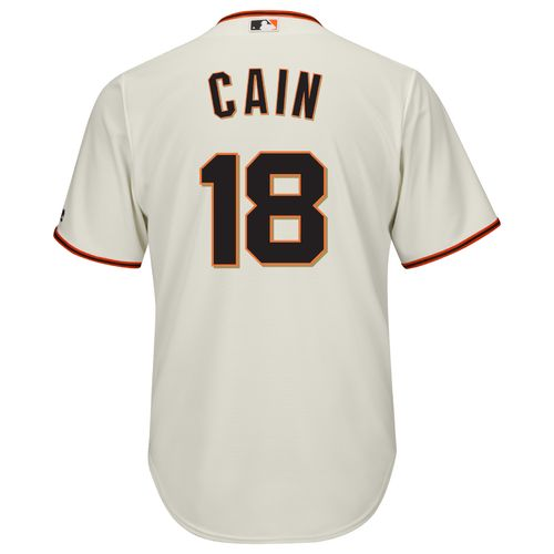 Majestic Men's San Francisco Giants Matt Cain #18 Cool Base® Jersey - view number 1