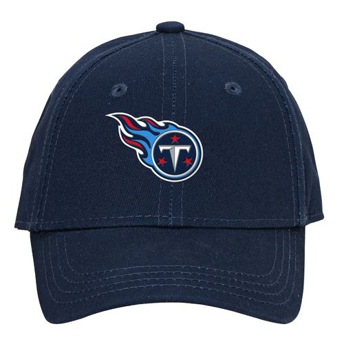NFL Boys' Tennessee Titans Lil' Constant Basic Structure Adjustable Cap
