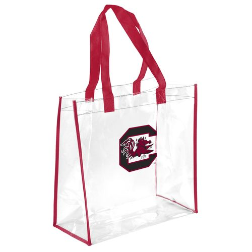 Display product reviews for Team Beans University of South Carolina Clear Reusable Bag