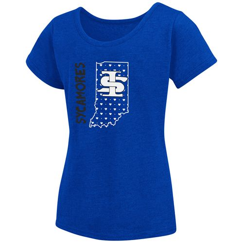 Colosseum Athletics Girls' Indiana State University T-shirt