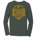 Image One Men's Southeastern Louisiana University Finest Shield Comfort Color Long Sleeve T-shir
