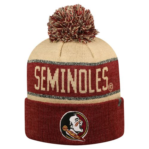 Top of the World Men's Florida State University Below Zero Cuffed Knit Cap