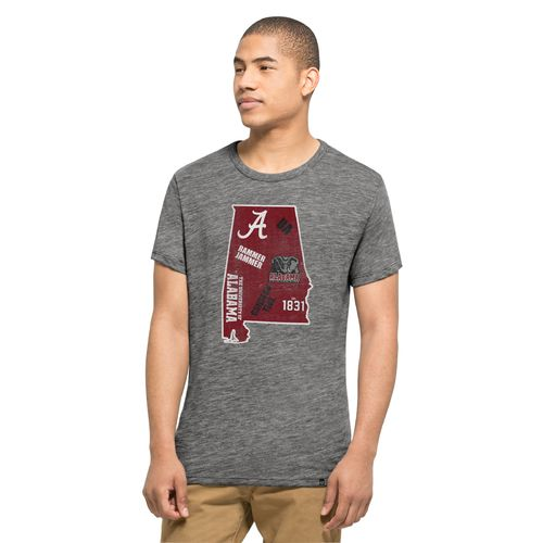 '47 University of Alabama State Outline Multilogo Field House T-shirt