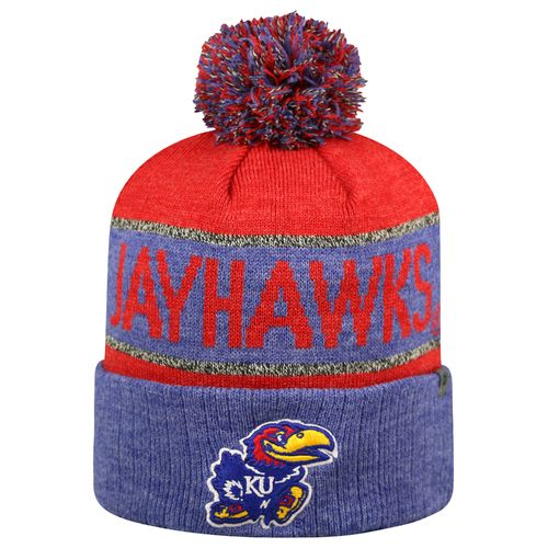 Top of the World Men's University of Kansas Below Zero Cuffed Knit Cap