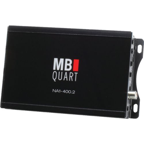 MB Quart NA1-400.2 Nautic Series Compact Powersports 2-Channel 200W Class D Amp