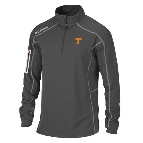 Columbia Sportswear™ Men's University of Tennessee Shotgun 1/4 Zip Pullover