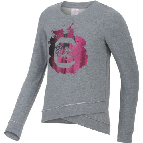 Colosseum Athletics™ Girls' University of South Carolina Alaia Long Sleeve Pullover
