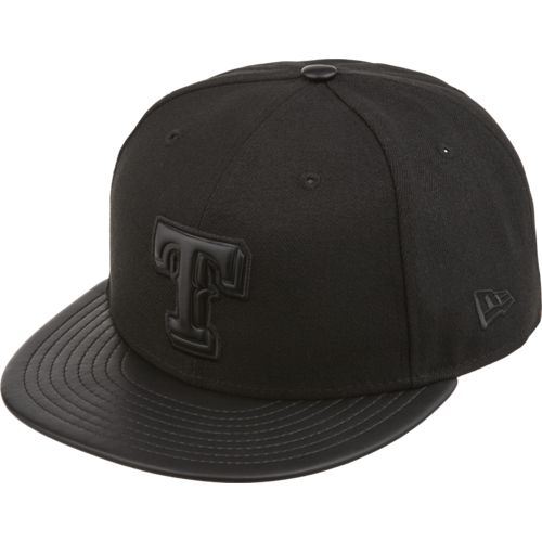 New Era Men's Texas Rangers Tonal Trick Snapback Cap