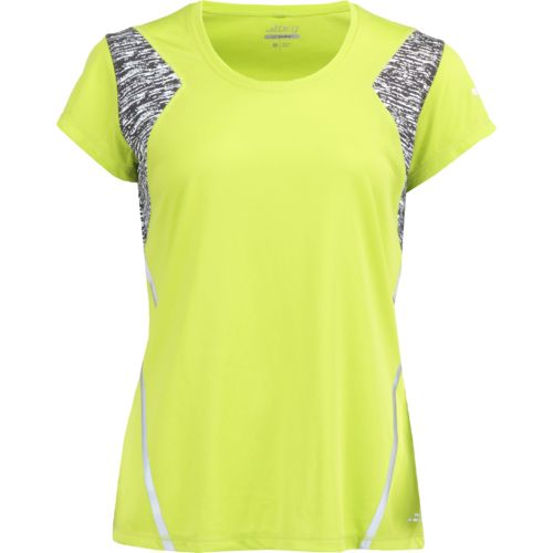 Display product reviews for BCG Women's BioViz Short Sleeve V-neck Running Top