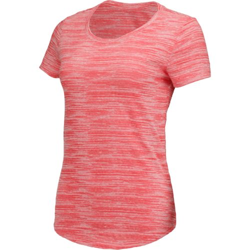 BCG Women's Horizon Printed Heather Burnout Top
