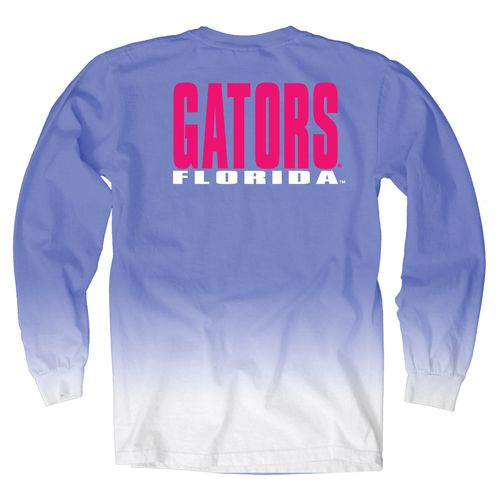 Blue 84 Women's University of Florida Ombré Long Sleeve Shirt