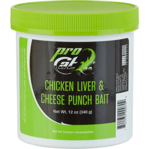 Pro Cat™ 14 oz. Chicken Liver and Cheese Punch Bait
