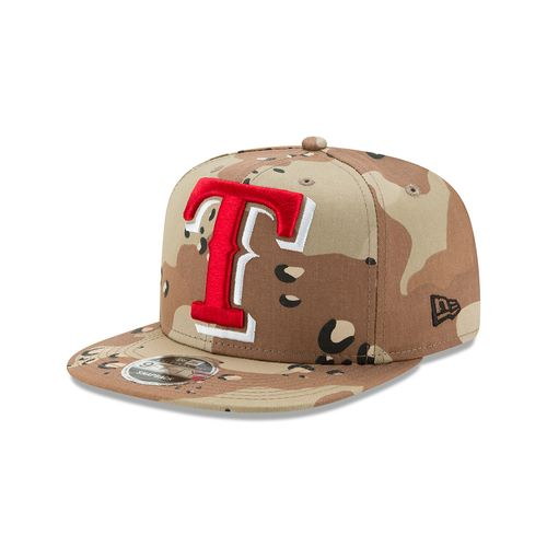 New Era Men's Texas Rangers 9FIFTY® Logo Snap Cap