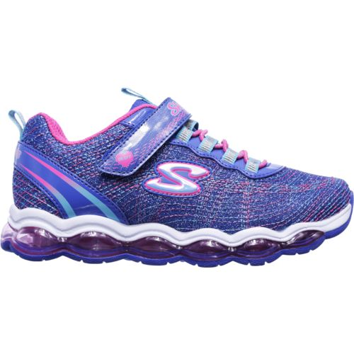SKECHERS Girls' Air Lites Glimmer Lights Shoes