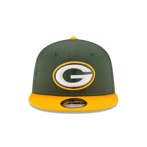 New Era Men's Green Bay Packers 9FIFTY Baycik Snapback Cap - view number 6
