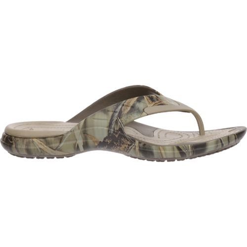 Crocs™ Men's MODI Sport Realtree Max-4® Flip Sandals
