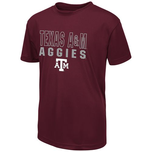 Colosseum Athletics Boys' Texas A&M University Team Mascot T-shirt