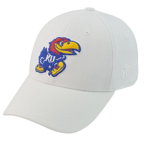 Top of the World Adults' University of Kansas Premium Collection M-F1T™ Cap - view number 1