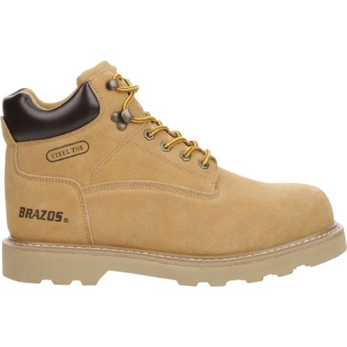 Brazos Men's Tradesman Steel-Toe Work Boots - view number 1