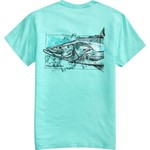 Magellan Outdoors Men's Water Drawn Snook T-shirt - view number 4