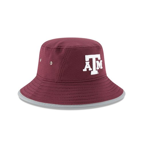 New Era Men's Texas A&M University Team Training Bucket Hat - view number 3