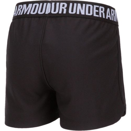 Under Armour Girls' Solid Play Up Short - view number 2