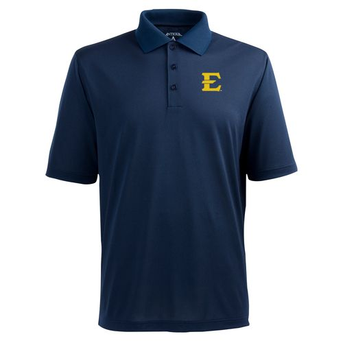 Antigua Men's East Tennessee State University Pique Xtra-Lite Polo Shirt - view number 1
