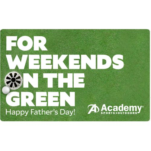 Father's Day Golf Academy Gift Card