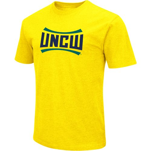 Colosseum Athletics Men's University of North Carolina at Wilmington Logo Short Sleeve T-shirt