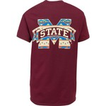 New World Graphics Women's Mississippi State University Logo Aztec T-shirt - view number 1