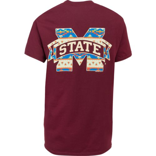 New World Graphics Women's Mississippi State University Logo Aztec T-shirt