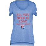 Chicka-d Women's Louisiana Tech University Scoop-Neck T-shirt - view number 1