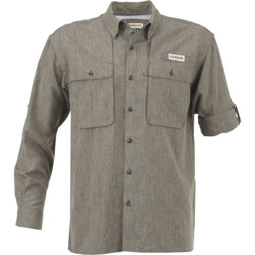 Display product reviews for Magellan Outdoors Men's Aransas Pass Heather Long Sleeve Fishing Shirt