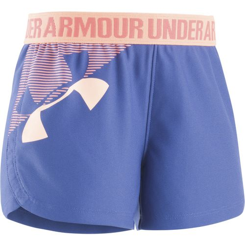 Under Armour Girls' Graphic Play Up Short