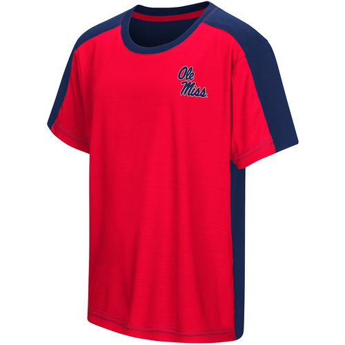 Colosseum Athletics Boys' University of Mississippi Short Sleeve T-shirt