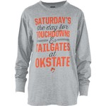Three Squared Juniors' Oklahoma State University Touchdowns and Tailgates T-shirt - view number 1