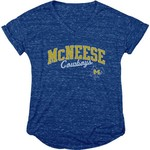 Blue 84 Women's McNeese State University Dark Confetti V-neck T-shirt - view number 1