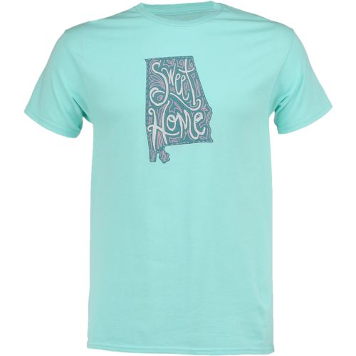 State Love Men's Sweet Home Alabama Short Sleeve T-shirt - view number 1