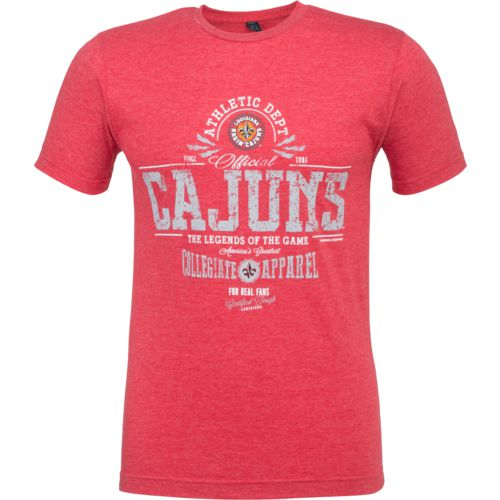 New World Graphics Men's University of Louisiana at Lafayette Legends of the Game T-shirt