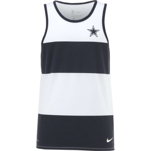 Nike Men's Dallas Cowboys Wide Stripe Tank Top