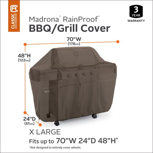 Classic Accessories Madrona RainProof Barbecue Grill Cover - view number 3