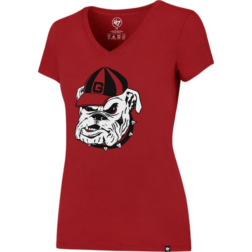 '47 University of Georgia Women's Splitter V-neck T-shirt