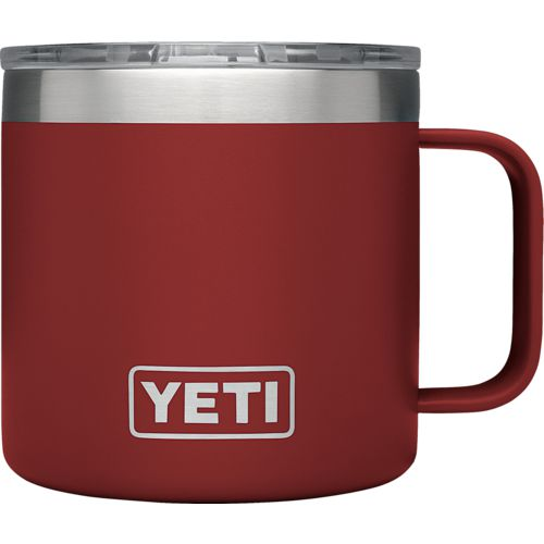 Display product reviews for YETI DuraCoat Rambler 14 oz Mug