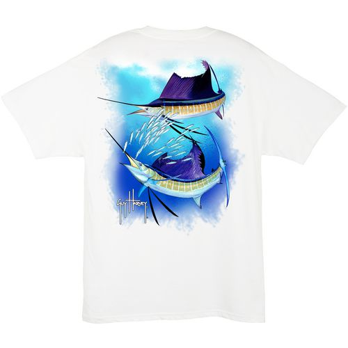 Guy Harvey Men's Sailfish Spiral T-shirt